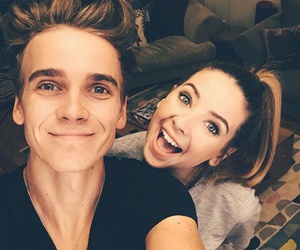 zoella, joe sugg, and ️youtubers image