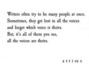 atticus and writer image