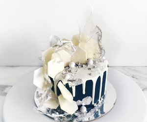 cake, perfect, and white image