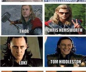 Avengers, thor, and loki image