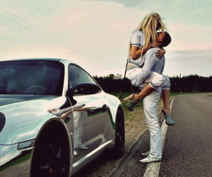couple, porsche, and ♥ image