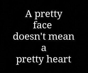 quotes, heart, and face image