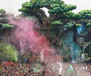 colors, confetti, and dance image