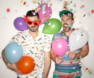 balloons, boys, and cute image