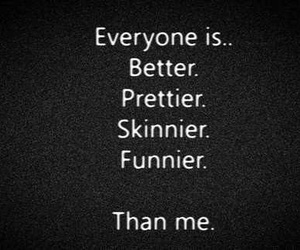 skinny, pretty, and funny image