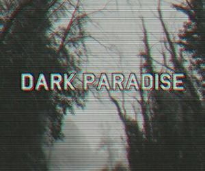 dark, paradise, and grunge image