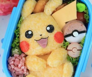 pikachu, food, and japan image