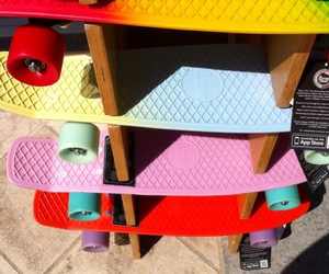 color, skate, and summer image