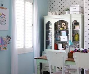 craft room, crafts, and organize image