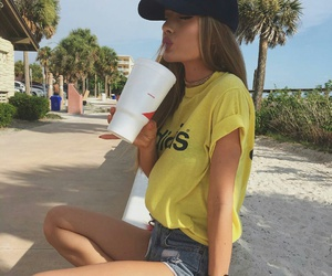 girl, summer, and adidas image