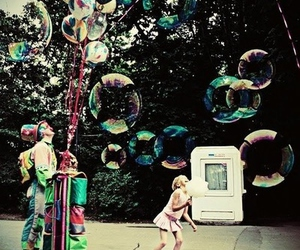 bubbles and clown image