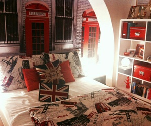 london, room, and england image