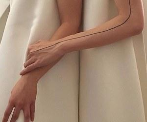 fashion, hands, and minimalism image