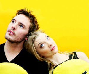 Natalie Dormer and sam claflin image