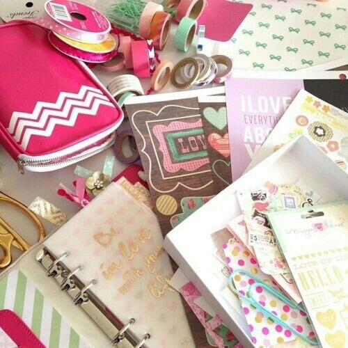 girly, pastel, and notebook image