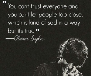 bmth, oliver sykes, and quote image