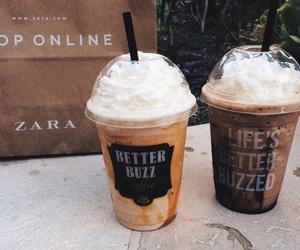 chocolate, starbucks, and coffee image