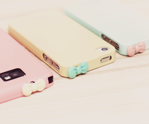 iphone, pink, and bow image