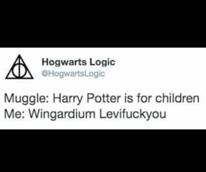 fuck you, hogwarts, and me image