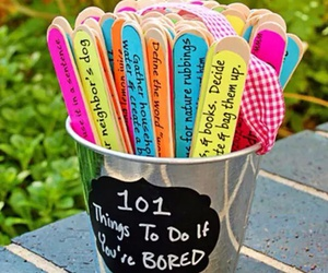 diy, bored, and ideas image
