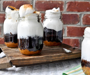 food, smores, and dessert image