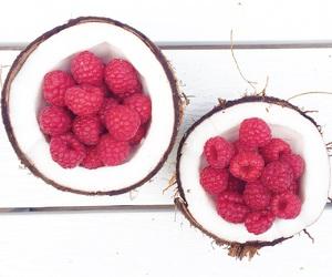 coconut, dessert, and food image