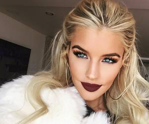 makeup, hair, and style image