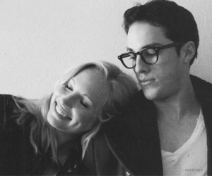 candice accola, tvd, and couple image