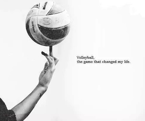 volleyball, sport, and life image