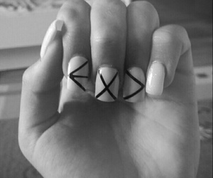 kpopnails, exo, and nails image