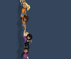 percy jackson, heroes of olympus, and annabeth chase image