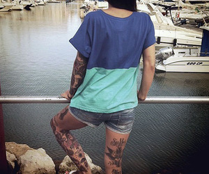 beautiful, tattoo, and ink image