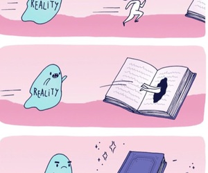 book, books, and reality image