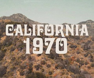 california, 70s, and vintage image