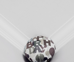 baloon and happy birthday image