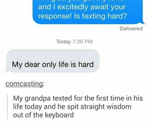 funny, life, and text image