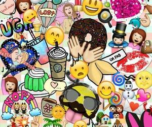 emojis, wallpaper, and emoji image
