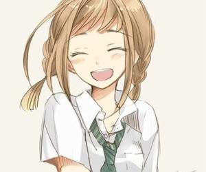 anime, smile, and anime girl image