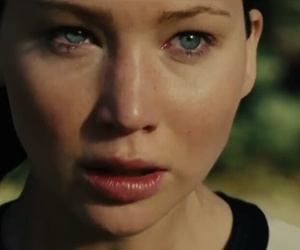 blue eyes, Jennifer Lawrence, and the hunger games image