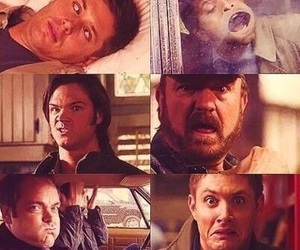 supernatural, castiel, and dean image
