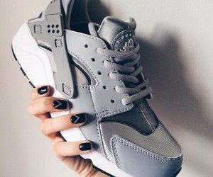 nike, girl, and manicure image