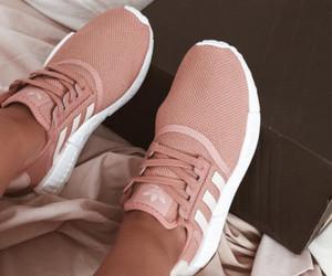 adidas, pink, and adidas shoes image