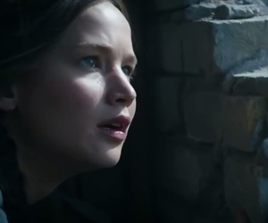Jennifer Lawrence, mockingjay part 1, and the hunger games image