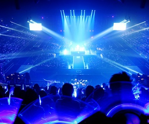 super junior, sapphire blue, and super show image