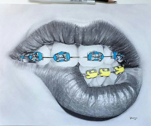 art, blu, and colori image