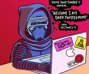 kylo ren and funny image