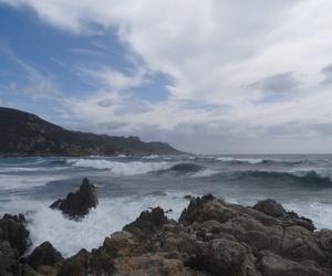 beach, holidays, and sea image