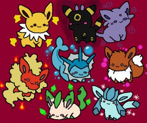 eevee, pokemon, and eeveelution image