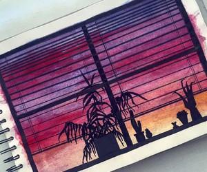 art, journal, and bujo image