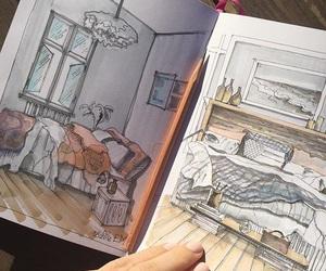 illustration, art, and doodle image